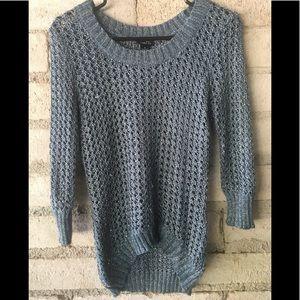 Rue 21 M open weave sweater